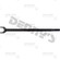 Dana Spicer 10007775 CHROMOLY Left side Inner Axle Shaft fits Dana 30 front 1982 to 1983 Jeep CJ5 and 1982 to 1986 Jeep CJ7 replaces 27941-10X