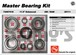 AAM 74067018 master bearing kit fits GM 11.5 inch 14 bolt rear 2011 to 2016 Chevy and GMC