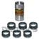 Denny's DE-15418 KIT includes (1) DE-15688 installation tool plus (6) DANA SPICER 2-86-418 Rubber Boots for 1310, 1330, 1350, 1355, 1410 double cardan cv driveshafts