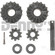 Dana SVL 10028813 INNER GEAR KIT SPIDER GEARS fits 8.5 inch 10 bolt rear with Eaton Posi with 28 spline axles1966 to 1971 Ford BRONCO Dana 30 FRONT differential with 27 spline axles