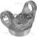 DANA SPICER 4-28-487 Weld Yoke 1550 Series fits 3.5 inch .134 wall tubing