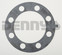 AAM 40051851 Full Float Axle Shaft GASKET fits 2011 and newer Chevy GMC 10.5 inch 14 bolt rear end