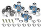 CV355-5 Rebuild Kit for JEEP with 1310 series Front/Rear CV Driveshaft includes Spicer greaseable 211355X CV Centering Yoke and (3) 5-1310-1X Greaseable U-Joints with lube fitting in end of cap for easy access