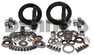 D44TJRB-456PGK Master Gear Kit 4.56 Ratio Package includes (2) Ring and Pinion Gear sets and Master Bearing Install Kits to fit both Dana 44 Front and Dana 44 Rear on 2003 to 2006 Jeep TJ Rubicon