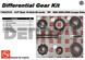 AAM 74047015 Spider Gear Kit fits 30 spline axles for OPEN diff Mid 2000 to 2008 Chevy and GMC 8.6 inch 10 bolt REAR