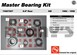 AAM 74067007 Master Bearing Kit fits GM 8.5 inch 10 bolt rear 1973 to 1998