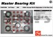 AAM 74067008 Master Bearing Kit fits GM 8.6 inch 10 bolt rear 1999 to 2008