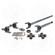 ZA W24110 USA Standard 4340 Chromoly replacement axle kit for TJ, XJ, YJ, ZJ Dana 30 front with 27 spline inner axles
