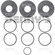 Dana Spicer 701126X Shim kit for Dana 60 inner pinion bearing
