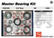 AAM 74067009 Master Bearing Kit 1998 to 2011 Chevy GMC 10.5 inch 14 bolt rear end