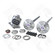 Yukon YA FMUST-2-31 Axle Upgrade Kit fits 1979 to 1993 Ford Mustang 8.8 inch REAR comes with 31 Spline 5 Lug Axles, DuraGrip positraction, diff bearings, axle bearings, axle seals, wheel studs and supershim kit - YAFMUST-2-31