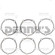 Dana Spicer 10027410 Pinion Shims for Ford 9 inch rear end