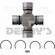 Spicer Select 25-3244X Combination U-Joint converts Dodge 7260 to 7290 Series Grease fitting in body