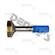 Dana Spicer 3-40-1491 Driveshaft Spline 1.5 inch x 16 fits 3.5 inch .083 wall steel tube