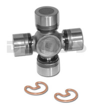 Dana Spicer 5-7439X Non Greaseable Universal Joint fits FORD 8 inch or 9 inch rear has (2) 1.125 inch caps to fit pinion yoke saddle also called Ford Big Cap u-joint