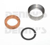 Dana Spicer D2C Slip Yoke Dust Cap for 1.375 inch spline 1.652 ID thread diameter CORK SEAL with ROUND ID