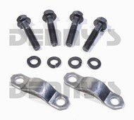 """Neapco 1-0025 strap and bolt set fits Inside """"C"""" Clip Style GM 7.5, 7.6, 8.5, 8.6 10 Bolt and 9.5 inch 14 bolt with 3R Series Pinion Yoke designed for 1.125 bearing cap"""