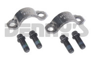 DANA SPICER 3-70-28X Strap and Bolt set fits 1350/1410 series Dana 60, 61, 70, 80 rear end yokes designed for 1.187 diameter u-joint bearing caps