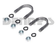 Dana Spicer 2-94-28X U-BOLT SET 1310-1330 Series for 1.062 bearing cap diameter