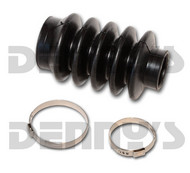 DANA SPICER 212010X Rubber Dust Boot 4 Bellows for spline and slip yoke style driveshaft fits 1350 and 1410 series 4 INCHES LONG