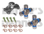 Jeep TJ RUBICON 2003 to 2006 CV Rebuild Kit 1330 Series includes Spicer 211179X Centering yoke and (2) 5-213X U-Joints GREASABLE