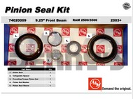 AAM 74020009 - PINION SEAL KIT fits 2003 and newer DODGE Ram 2500, 3500 with 9.25 inch AAM Front Axle