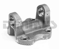 AAM 40038046 SERRATED FLANGE YOKE 1555 series fits transfer case end of rear driveshaft 2006 and newer DODGE Ram 2500, 3500 with AAM 1555 series rear driveshaft
