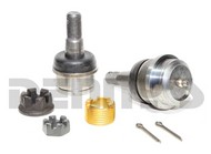 Dana Spicer 706944X Ball Joint Set fits 2003 to 2006 Jeep TJ Wrangler, Rubicon and Unlimited with DANA 44 front