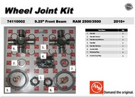 AAM 74110002 WHEEL JOINT KIT- Fits 2010 to 2013 DODGE RAM 2500/3500 with 9.25 Front Axles 1555 series