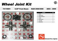AAM 74110001 WHEEL JOINT KIT- Fits 2003 to 2009 DODGE RAM 2500/3500 with 9.25 Front Axles 1485 series
