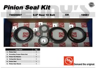 AAM 74020007 - PINION SEAL KIT fits 1998 to 2012 CHEVY and GM with 8.6 inch REAR Axle