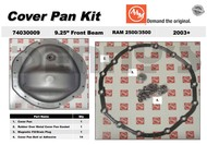 AAM 74030009 Cover and Gasket Kit fits 9.25 inch Beam front axle 2003 to 2012 Dodge Ram 2500, 3500