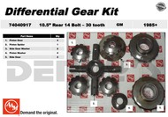 AAM 74040917 Differential Spider Gear Kit fits 1985 and newer GM 10.5 inch 14 bolt rear end with 30 spline axle shafts