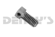 Dana Spicer 449D Set Screw for PTO End Yoke .375 - 16 with hole for safety wire