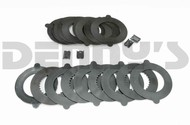 Dana Spicer 701151X TRAC LOK Positraction clutch plate kit with STEEL CLUTCHES for Dana 60 with 35 spline semifloat axles fits 1997 to 2014 Ford Van E250, E350
