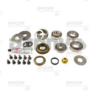DANA SPICER 2017101 Differential Bearing Master Kit Fits 2003 to 2006 Jeep Wrangler TJ with Dana 44 FRONT with AIR LOCKER
