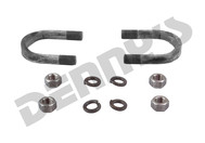 Dana Spicer 3-94-28X U-Bolt Set fits 1.375 bearing cap diameter 1.914 CL on 1480/1550 Series u-bolt style transmission, transfer case and differential pinion yokes