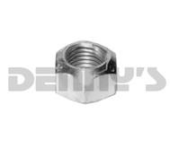 .375-24 Cone Lock NUT 3/8 inch fine thread self locking nut zinc plated