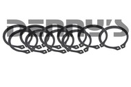 10 Pack Dana Spicer 31624 Snap Ring for Outer Axle Shafts Jeep DANA 44 front