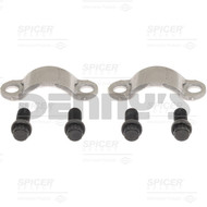 Spicer SELECT 25-657018X Strap and Bolt set fits 1710, 1760, 1810 series yokes