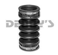 AAM 40021078 Rubber Dust Boot for OEM front driveshaft 2003 to 2009 RAM 4.5 inches long 1.625 inches ID at each end