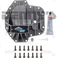 Dana Spicer 10024011 Nodular Iron Diff COVER for Ultimate Dana 60 FRONT comes with bolts, fill plug and RTV sealer