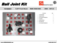 DODGE RAM 2500 3500 9.25 FRONT AXLE BALL JOINT KIT