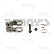 Dana Spicer 10-4-631SX Yoke fits 0.739 in. OD splined steering shaft, clamp style, 1000 series, 30 splines based on 36