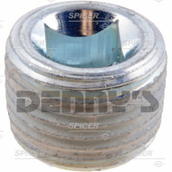 Dana Spicer 43180 Plug for Differential Cover 47707-1 fits Ford F250, F350 Dana 50 front 1998 to 2002