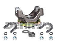 820054 FORGED STEEL PINION YOKE 1350 series 2.800 inches tall with hardware fits 12 Bolt Chevy Car and Truck rear ends